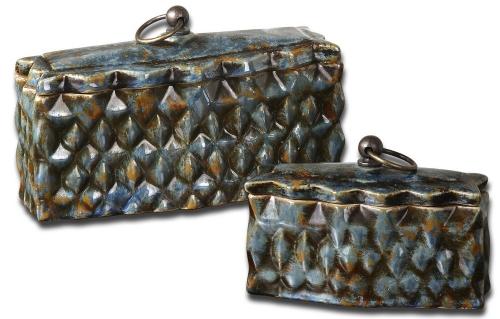 Neelab Ceramic Containers - Set of 2