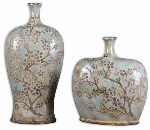 Citrita Decorative Ceramic Vases - Set of 2