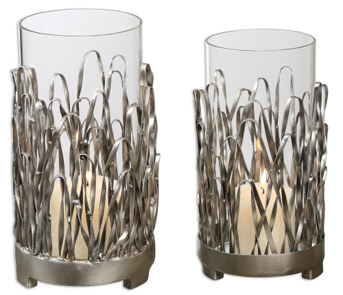 Corbis Candleholders - Set of 2
