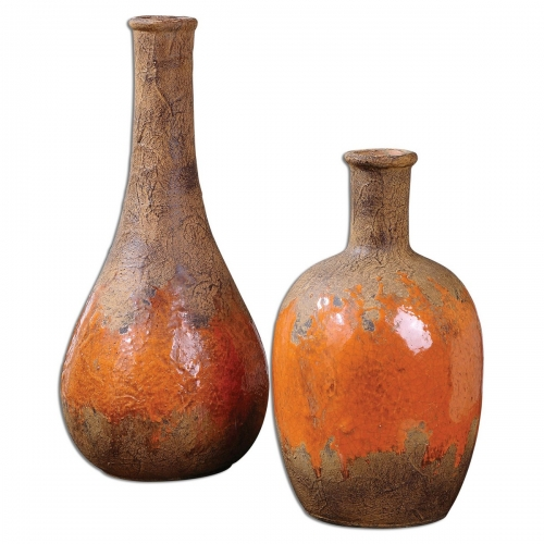 Kadam Ceramic Vases - Set of 2