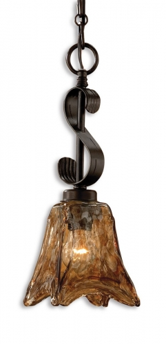 Vetraio Mini Oil Rubbed Bronze Pendant