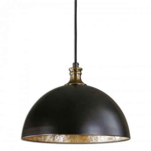 Placuna 1 Light Bronze Pendant