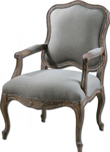 Willa Steel Gray Armchair