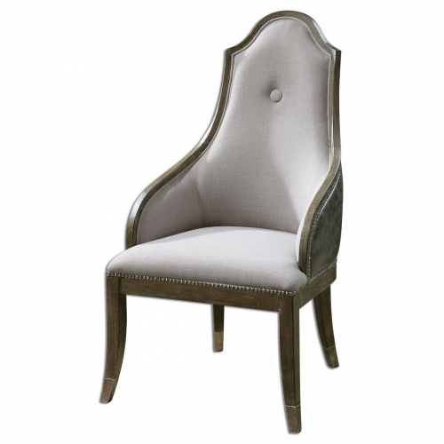 Sylvana Gray Accent Chair