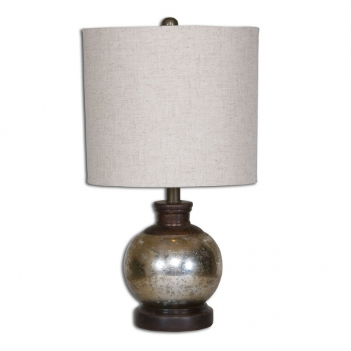 Arago Antique Glass Table Lamp