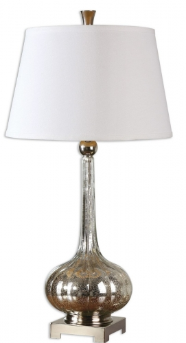 Oristano Mercury Glass Lamp