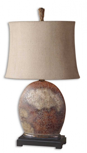 Yunu Distressed Table Lamp