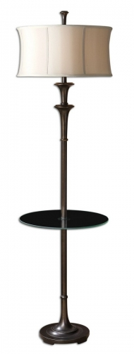 Brazoria End Table Floor Lamp