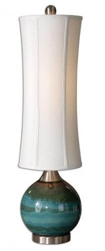 Atherton Blue Buffet Lamp