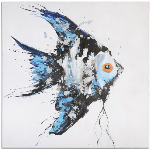 Blue Angel Ocean Art