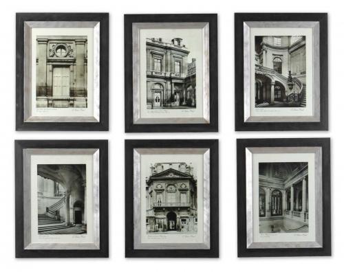 Paris Scene Framed Art - Set of 6