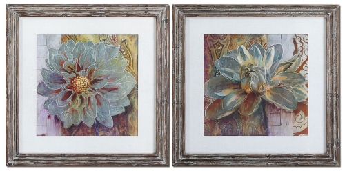 Sublime Truth Floral Art - Set of 2