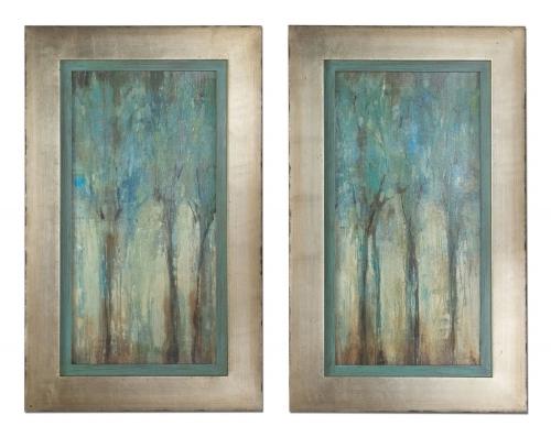 Whispering Wind Framed Art - Set of 2
