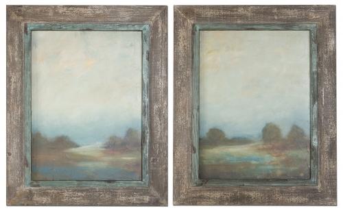 Morning Vistas Framed Art - Set of 2