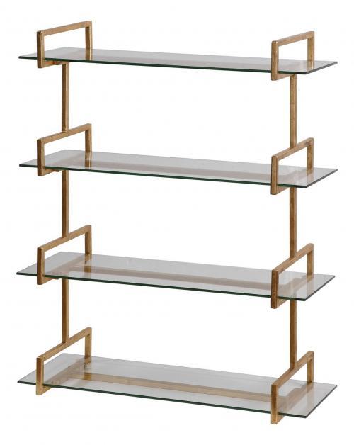 Auley Wall Shelf - Gold