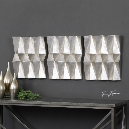 Maxton Multi-Faceted Panels - Set of 3