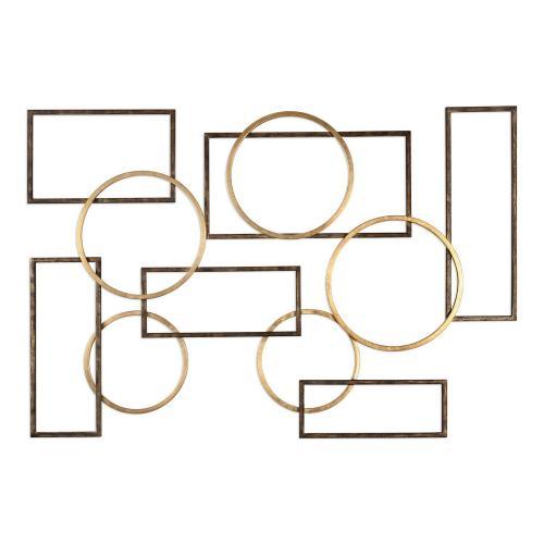 Elias Wall Art - Bronze/Gold