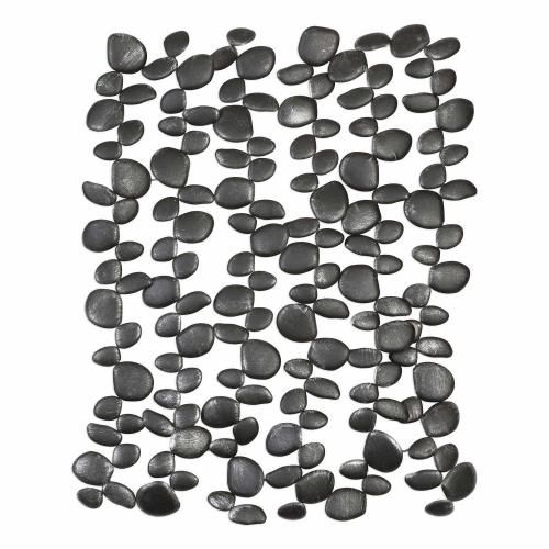 Skipping Stones Forged Iron Wall Art