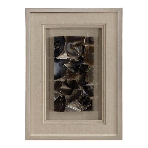 Seana Shadow Box - Agate Stone