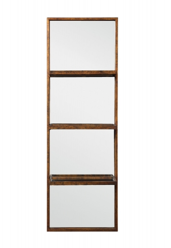 Dalis Mirrored Wall Shelf