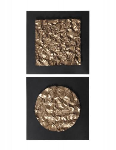 Boaz Wall Decor - Set of 2 - Gold
