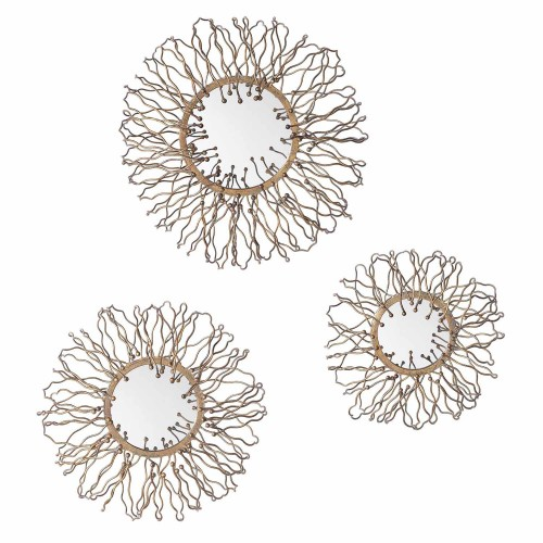 Elin Mirrored Wall Decor - Set of 3