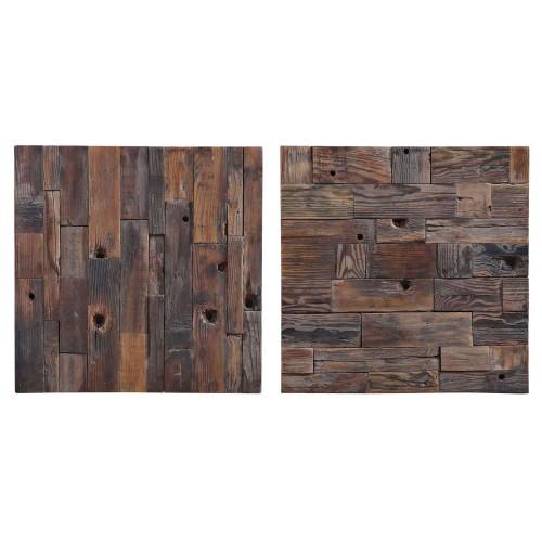 Astern Wood Wall Decor - Set of 2