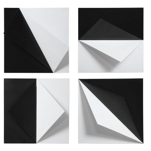 Origami Metal Wall Decor - Set of 4