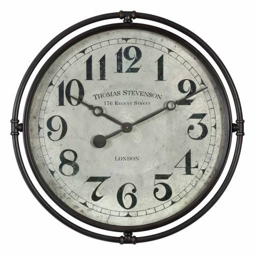 Nakul Industrial Wall Clock