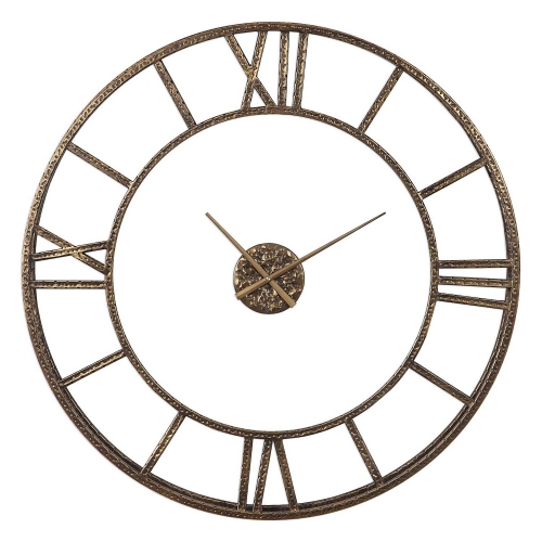 Mylah Wall Clock - Gold