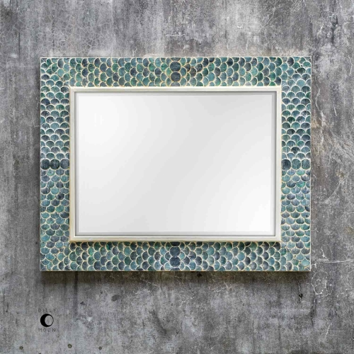 Makaria Coastal Mirror - Blue