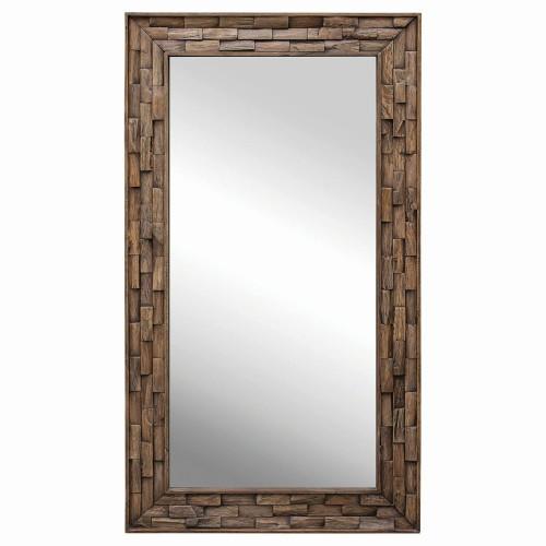 Damon Wood Mirror - Mosaic
