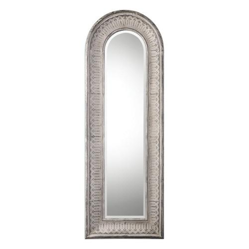 Argenton Arch Mirror - Aged Gray