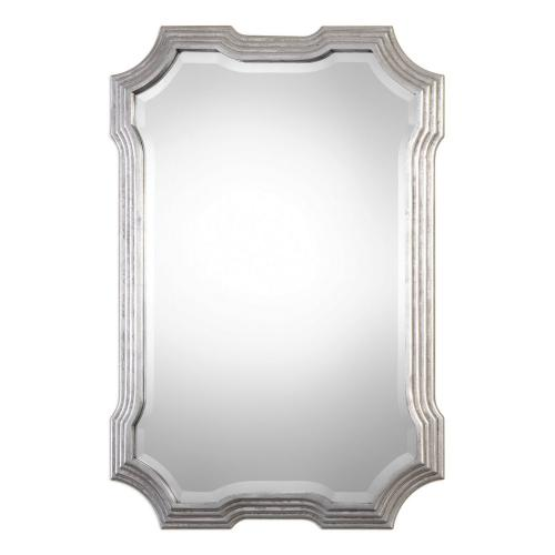 Halima Step Mirror - Silver