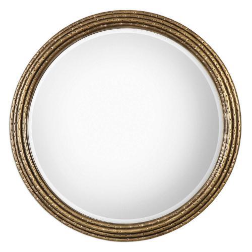 Spera Round Mirror - Gold