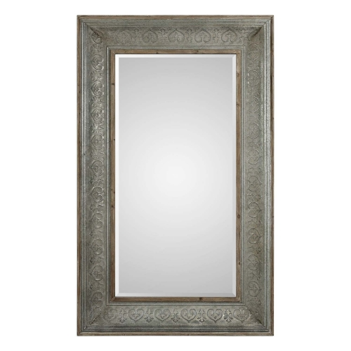 Bianca Aged Mirror - Grey