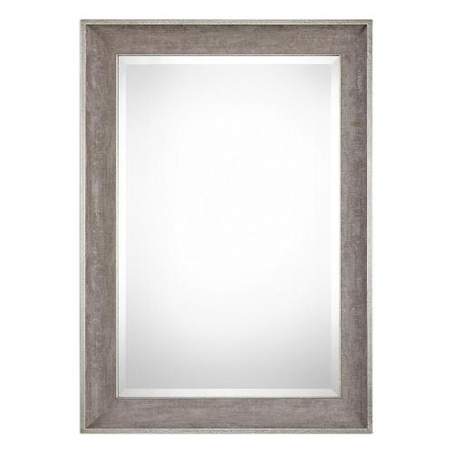 Corrado Textured Mirror - Grey