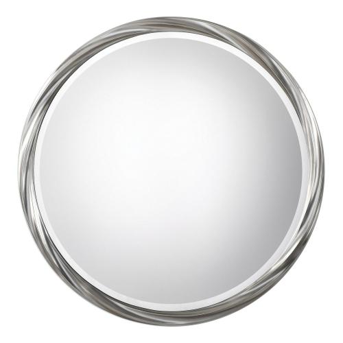 Orion Round Mirror - Silver