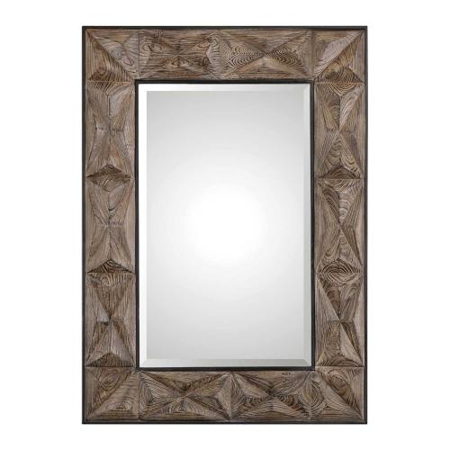 Wilder Aged Wood Mirror