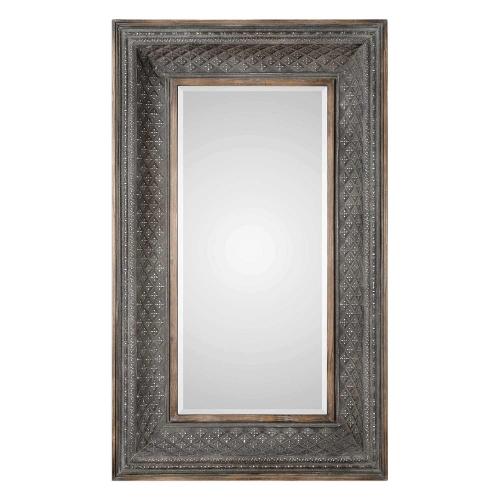 Kivalina Oversized Mirror - Aged Iron