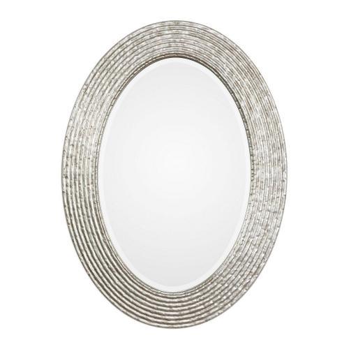 Conder Oval Mirror - Silver