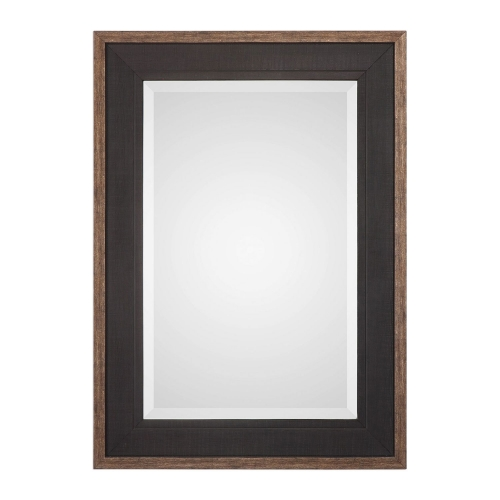 Staveley Mirror - Rustic Black