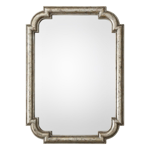 Calanna Mirror - Antique Silver