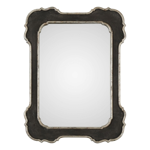 Bellano Mirror - Aged Black
