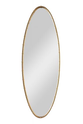Hadea Oval Mirror - Gold