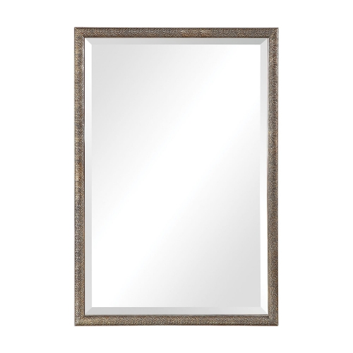 Barree Mirror - Antiqued Champagne