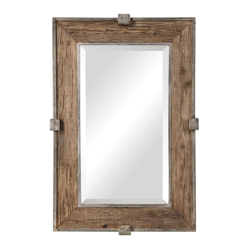 Siringo Mirror - Weathered Wood