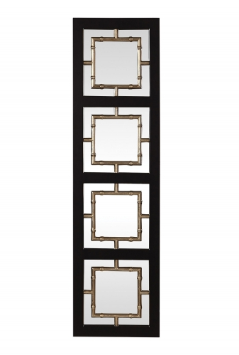 Tadon Rectangle Mirror - Black