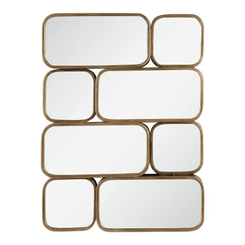 Canute Modern Mirror - Gold