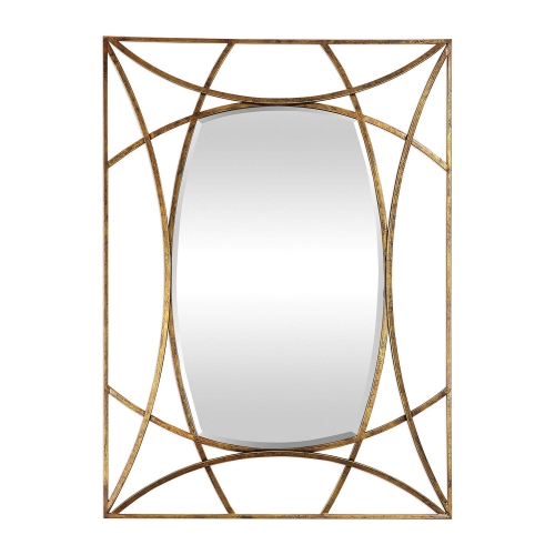 Abreona Mirror - Metallic Gold